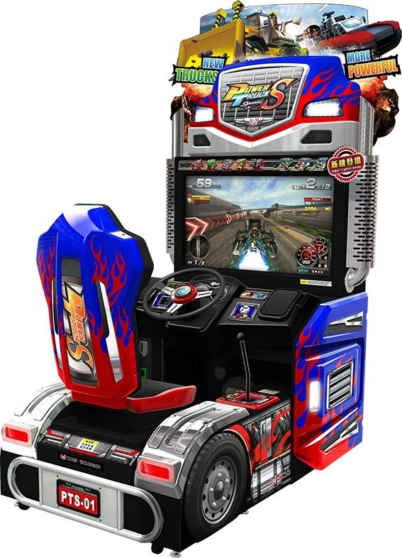 location jeux d'arcades Power Truck