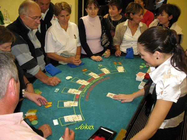 location table Black Jack