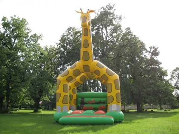 location jeux gonflables Girafe
