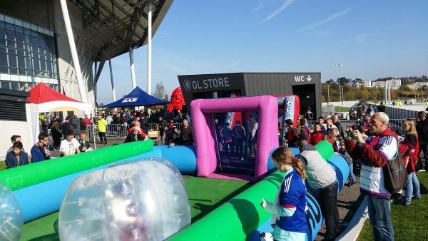 bumper ball joker fan zone O.L lyon